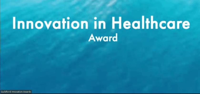 Guildford Innovation Awards 2020 - Innovation in Healthcare Award
