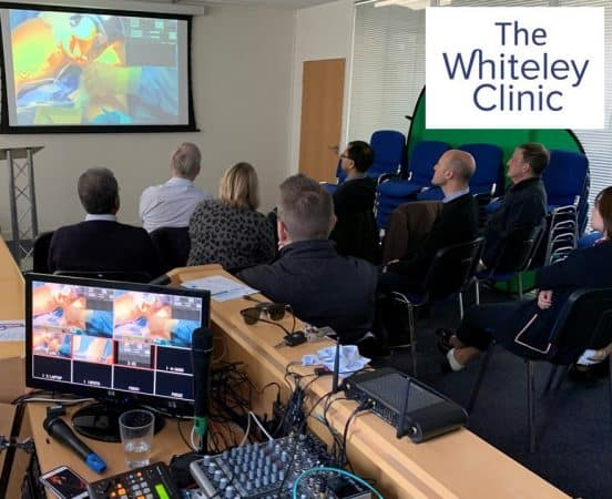 1st Endovenous Microwave Course for varicose veins treatment in Europe – 12-13 April 2019 – Whiteley Clinic and College of Phlebology