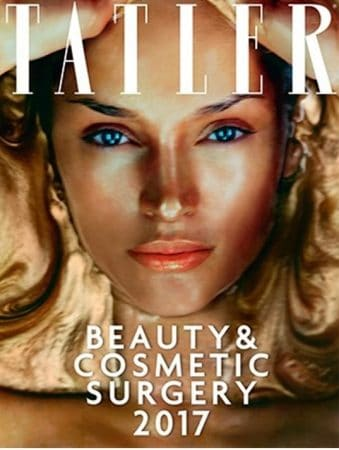 Best vein surgeons in UK 2017 featuring Prof Mark Whiteley in Tatler Beauty and Cosmetic Surgery Guide 2017
