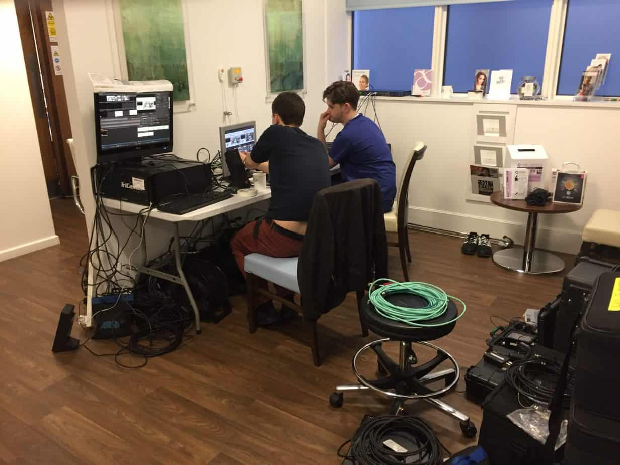 College of Phlebology 1st International Veins Meeting 2017 live cases transmitted from The Whiteley Clinic in Bond Street London