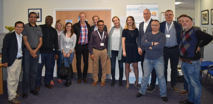 Delegates on The Whiteley Clinic Angiodynamics EVLT Course for varicose veins 19-20 May 2016