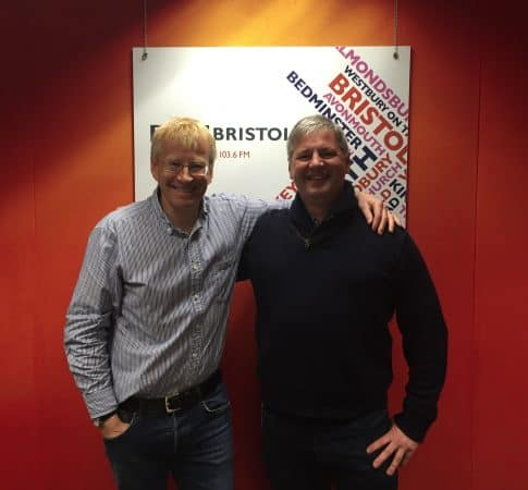 Dr Phil Hammond and Prof Mark Whiteley on Dr Phil Hammond Radio Show BBC Bristol 14 May 2016