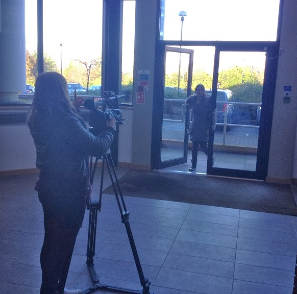 Filming at The Whiteley Clinic