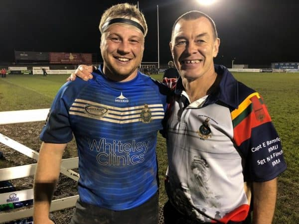 whiteley clinics, rugby, Royal Marines Charity