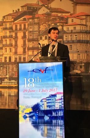 Harry Ashpitel - PhD Student at The Whiteley Clinic and University of Surrey - at EVF 2017 - Research into varicose veins treatments