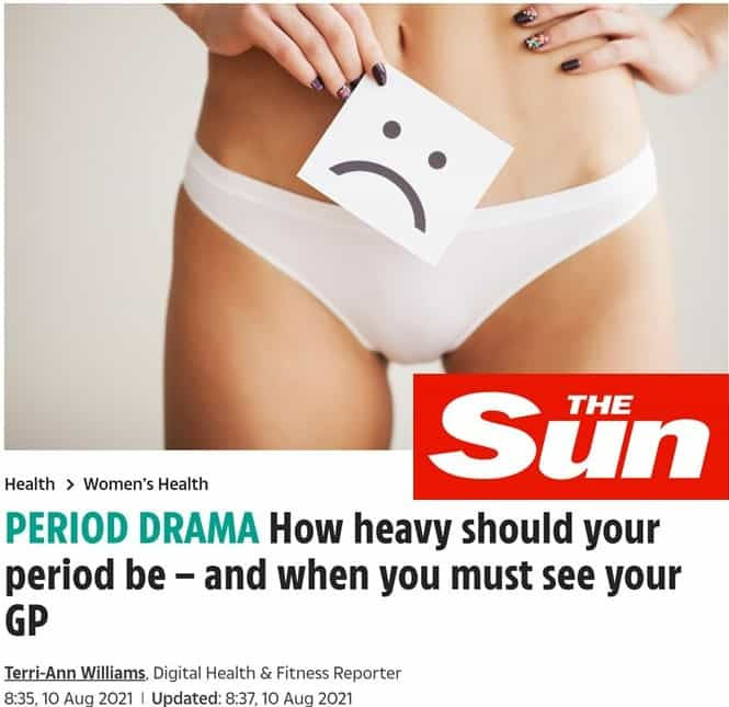 Heavy periods link to PCS in The Sun