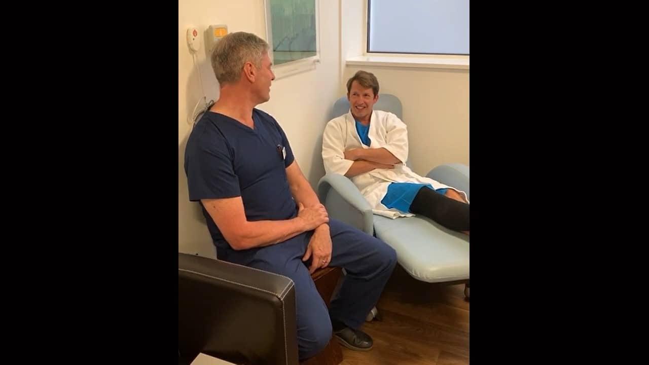 James Blunt varicose veins surgery