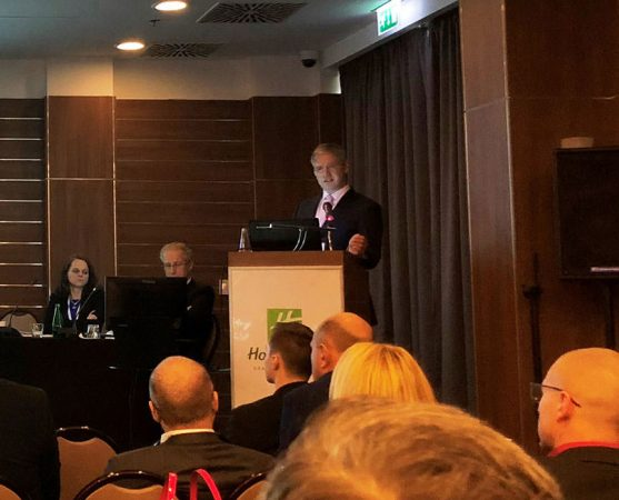 Latest advances in Pelvic Congestion - PCS - Prof Mark Whiteley lecturing about PCS in Poland - 9 Dec 2017