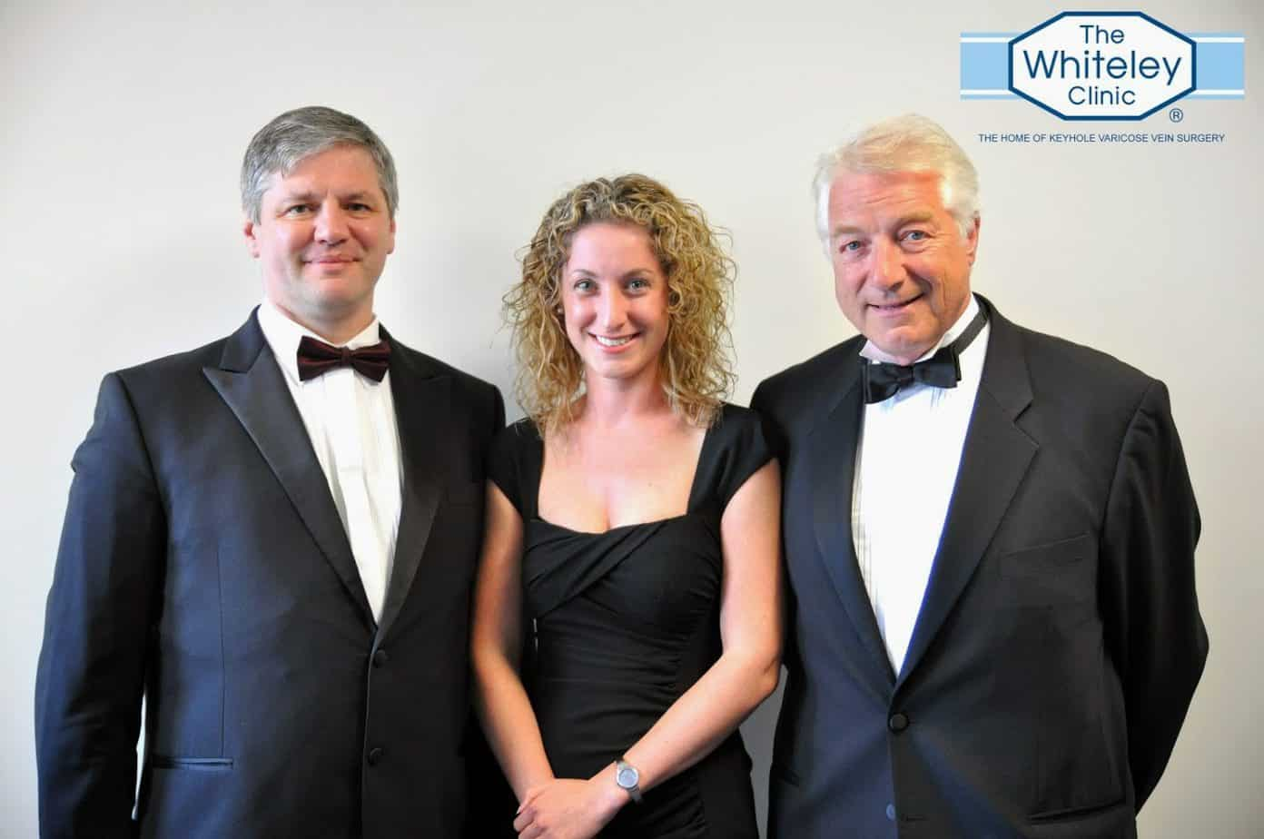 Mark Whiteley, Vicki Smith and Graham Smith IOD Awards dinner