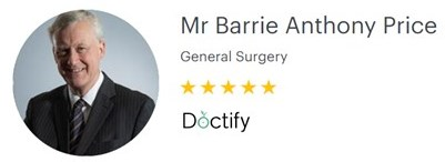 Mr Barrie Price – Venous Surgeon – 5-star reviews on Doctify