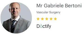 Mr Gabriele Bertoni – Venous Surgeon – 5-star reviews on Doctify
