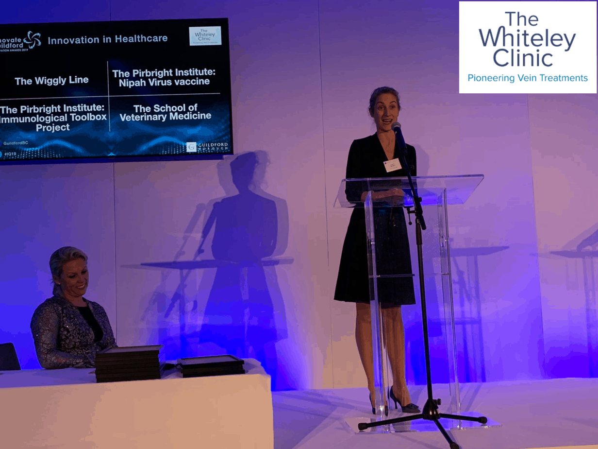 The Whiteley Clinic sponsors the Innovation in Healthcare Award 2019