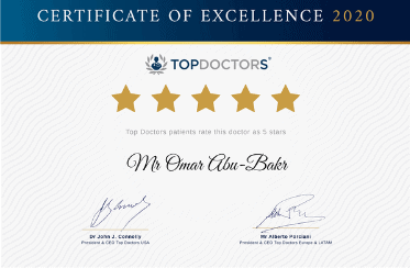 Omar Certificate of Excellence