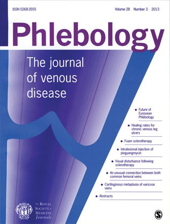 Permanent cure for leg ulcers - research from The Whiteley Clinic and published in Phlebology