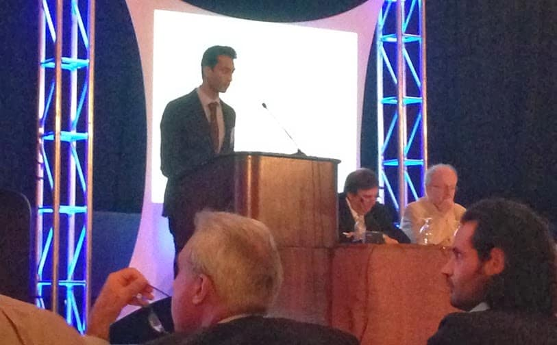 Salil Patel presenting at The American Venous Forum 2014