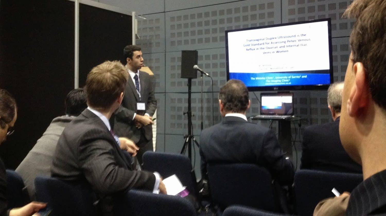 Scott Dos Santos presenting