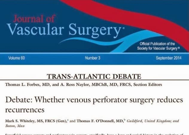 Debate European Journal of Vascular and Endovascular Surgery