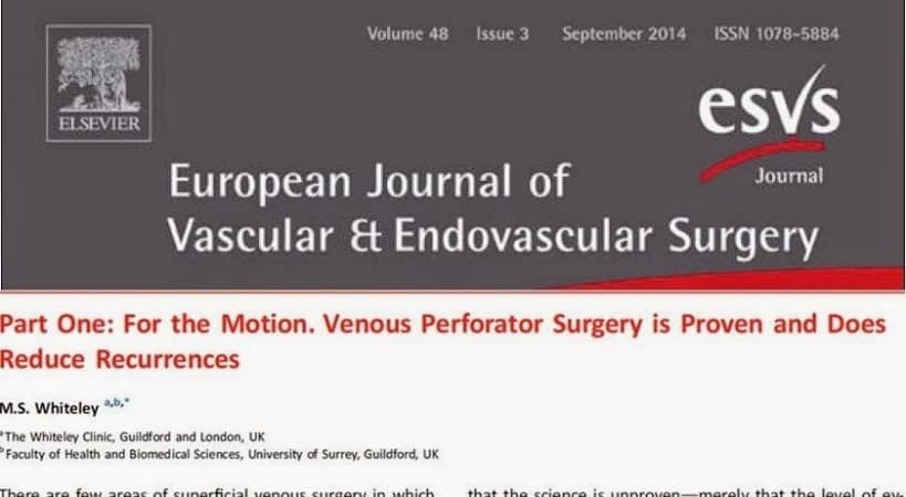 European Journal of Vascular and Endovascular Surgery
