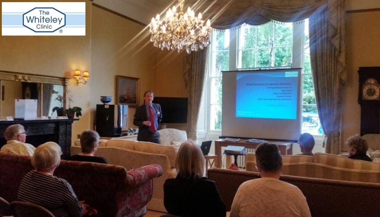 Varicose veins open day in Bristol with Mr Mike Rocker of the The Whiteley Clinic November 2016