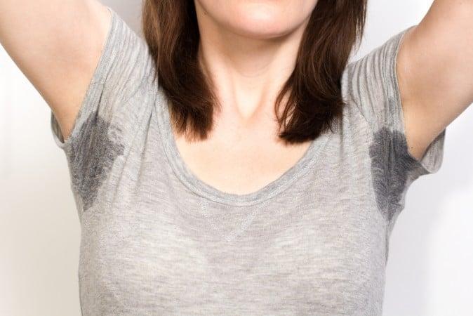 Women felt that sweating isn't a very 'ladylike' problem