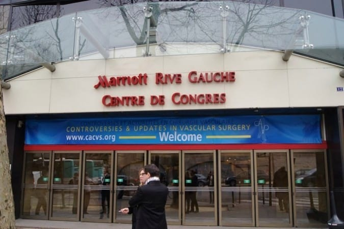 Varicose Veins research from The Whiteley Clinic presented at CACVS in Paris, 24 Jan 2015