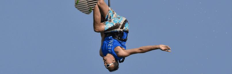 David Beckett Kite Surfing