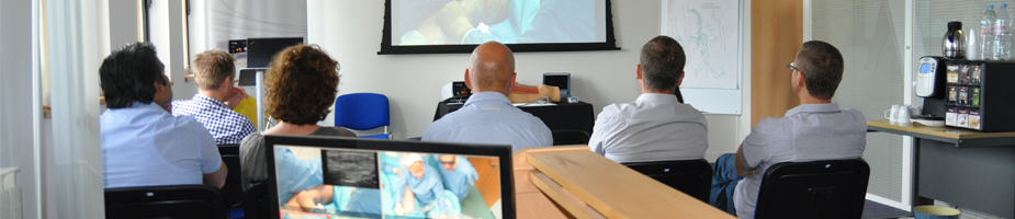 Training at Whiteley Clinics