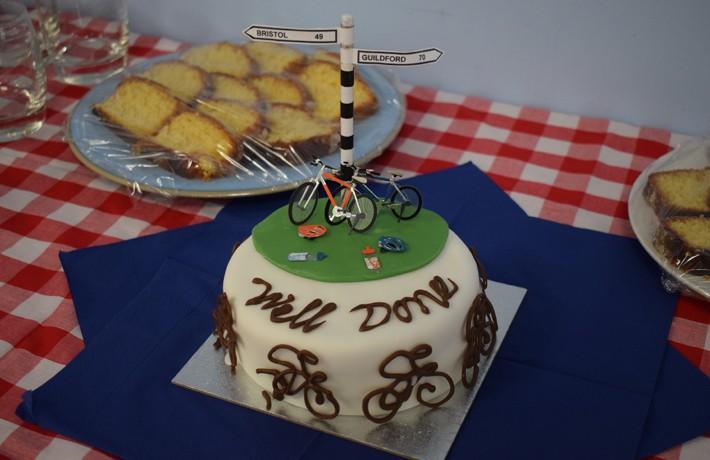 tour de TWC - cake