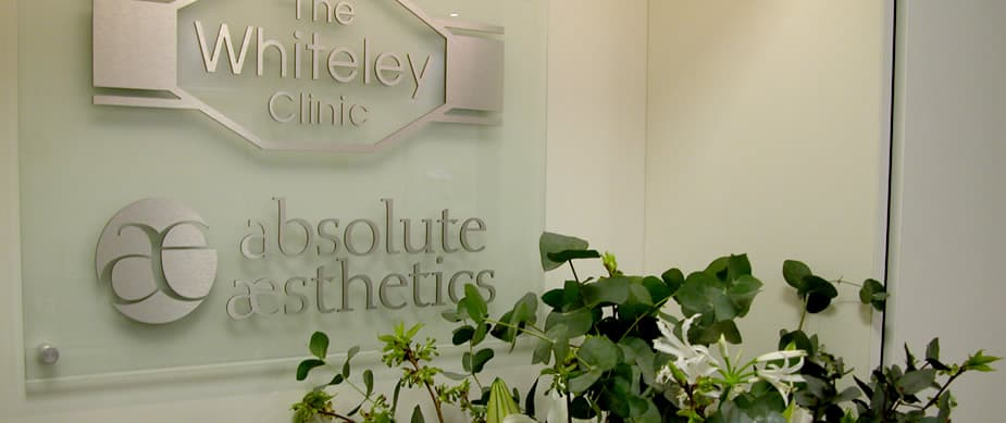 Entrance hall at The Whiteley Clinic London