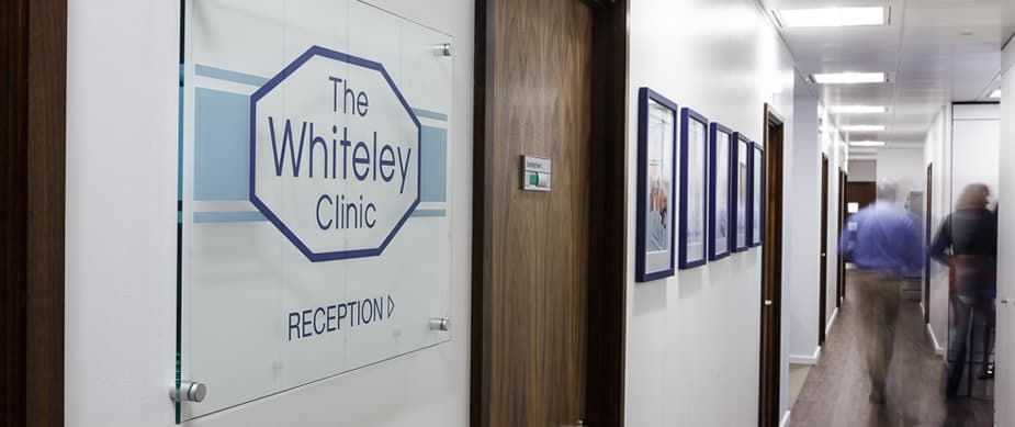 The Whiteley Clinic entrance